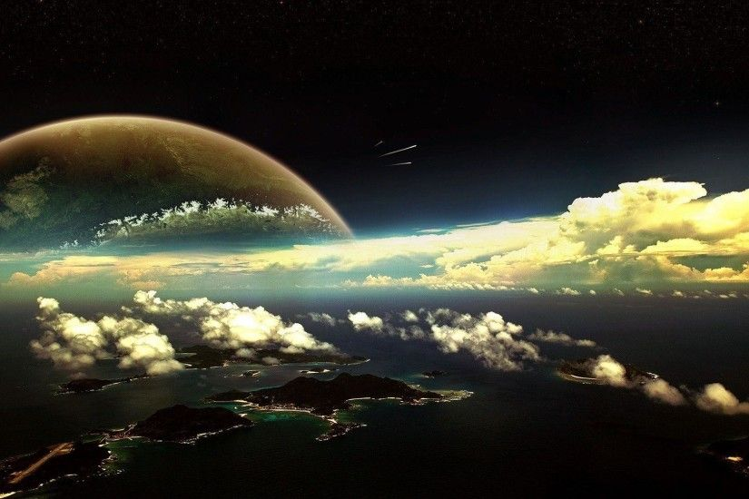 Fantasy Planet Wallpaper Wide or HD | Fantasy Wallpapers