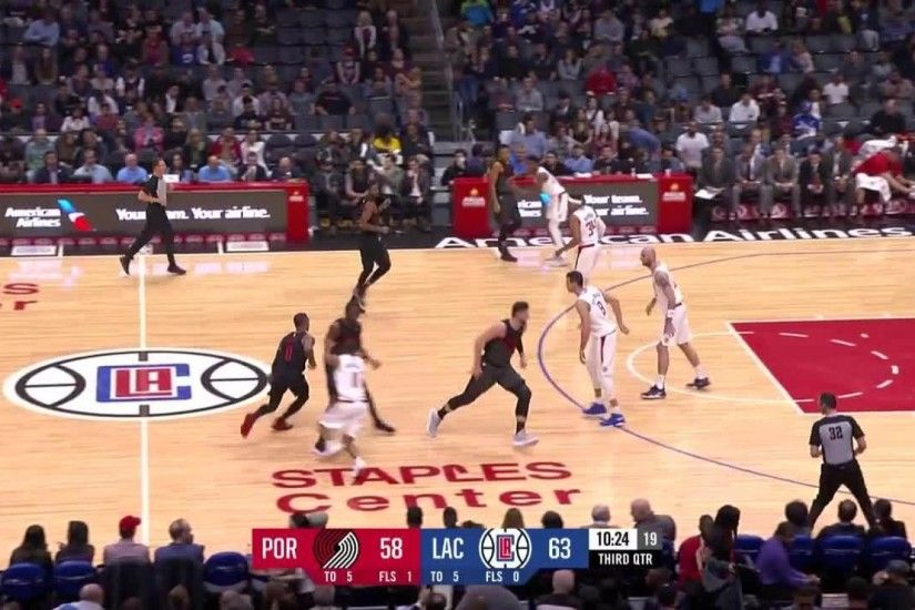 Portland Trail Blazers with 7 3-pointers in the 3rd Quarter vs. Los Angeles  Clippers