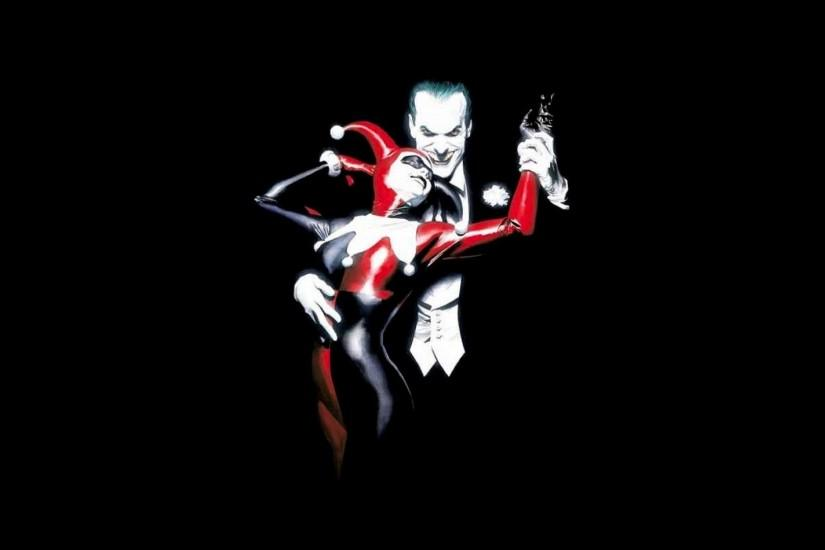 Harley Quinn & Joker Wallpaper - Destkop Backgrounds