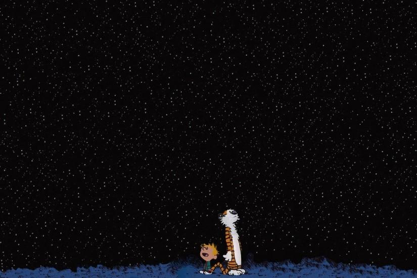 Calvin And Hobbes Background Wallpaper