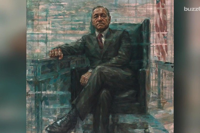 'House of Cards' premiere: President Underwood's portrait now hangs at the  Smithsonian