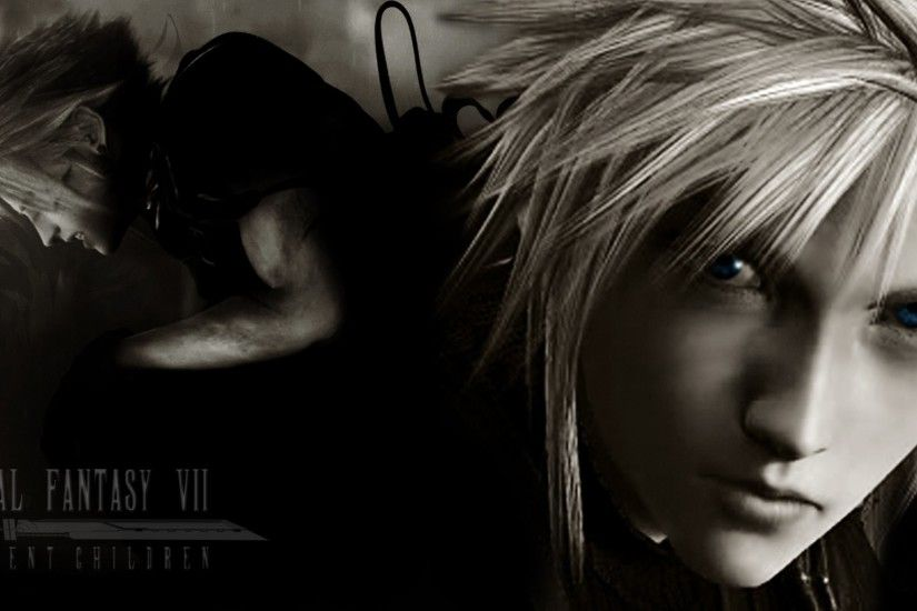 ... Wallpaper image #1 Final Fantasy Vii Remake Final Fantasy 7 Advent  Children Cloud Strife ...