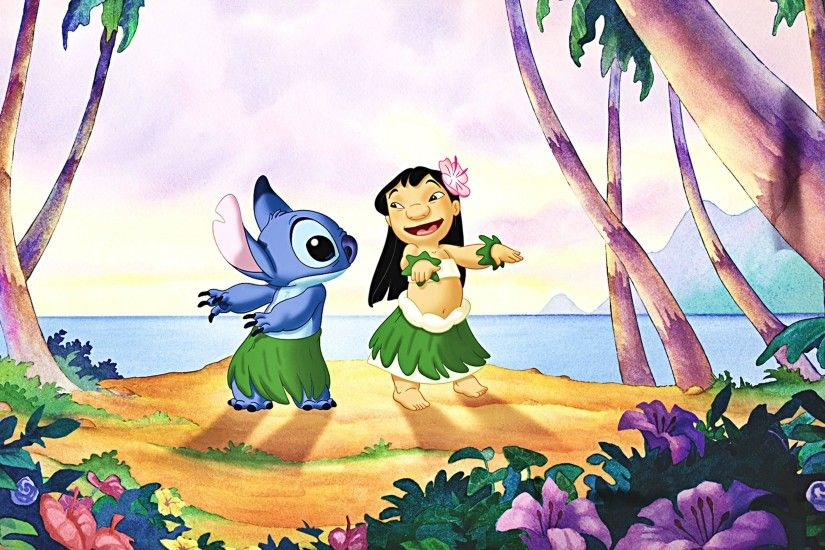 Walt Disney Wallpapers - Lilo & Stitch - Walt Disney Characters .