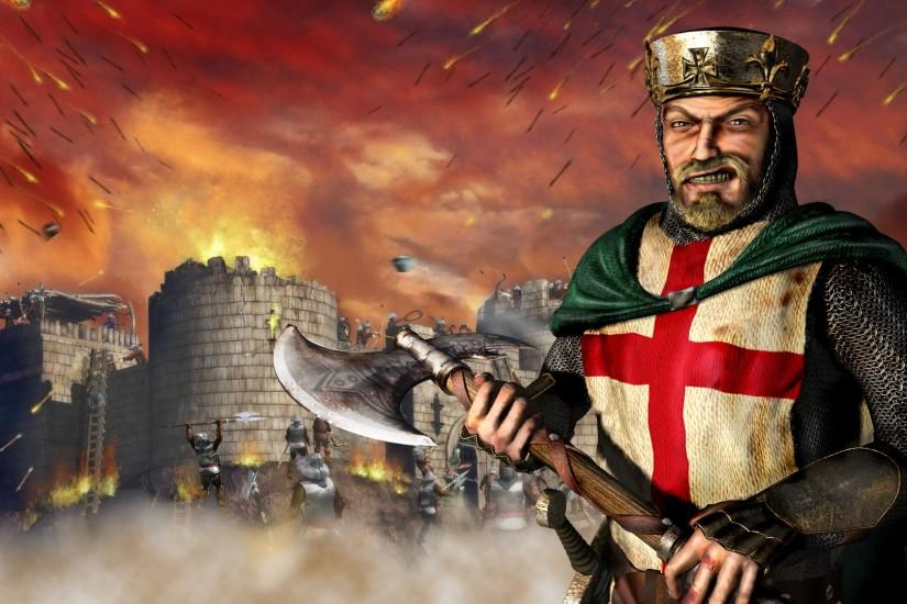 Wallpaper #2, wallpaper from Stronghold: Crusader II .