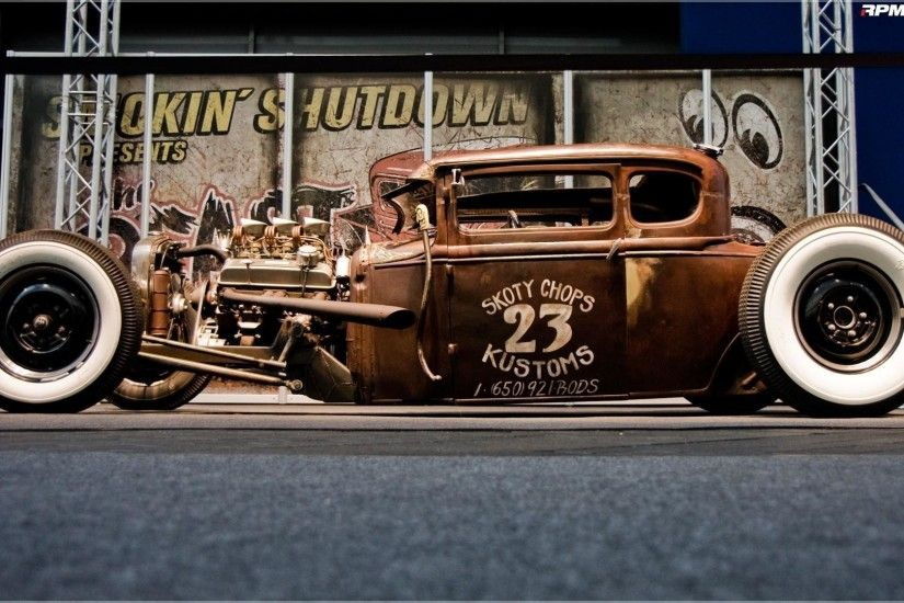 Rat Rod Vintage Cars #8823444