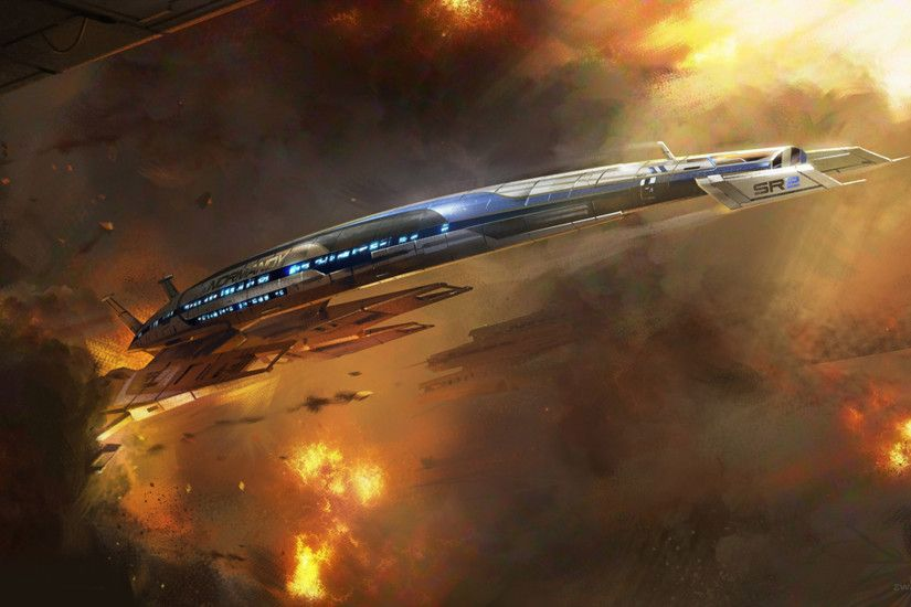 Free Awesome Mass Effect Normandy Images on your Tablet PC