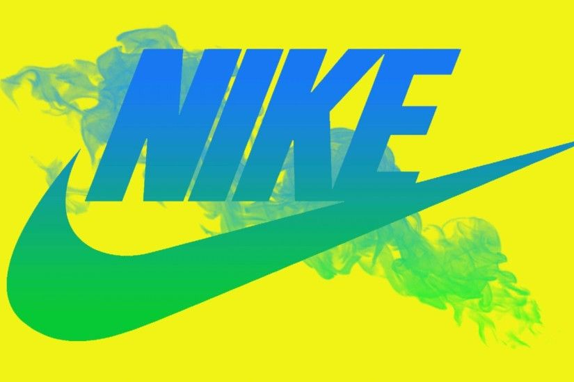 Logo based design-The Nike swoosh is an iconic symbol. Everyone knows that  it is connected to the Nike brand. The symbol is gradient in the image, ...