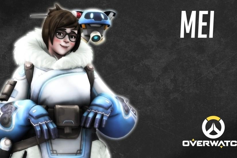 Mei Overwatch Wallpaper Free HD Desktop and Mobile Wallpaper