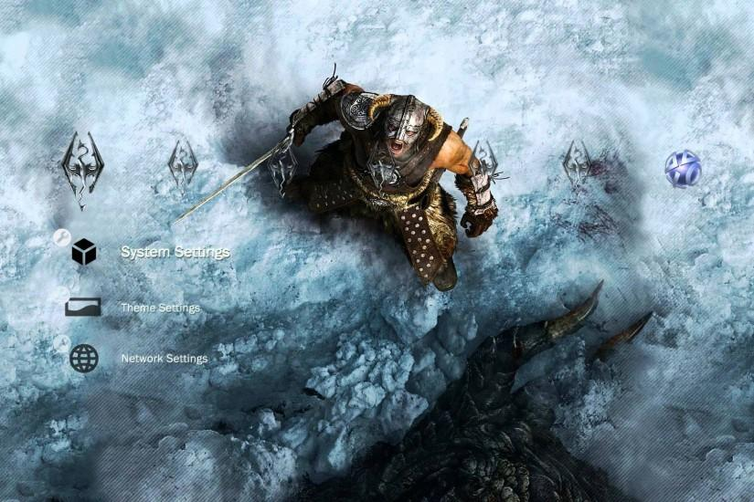 TES V: Skyrim HD Wallpaper + PS3 Theme [Download Links Included] - YouTube