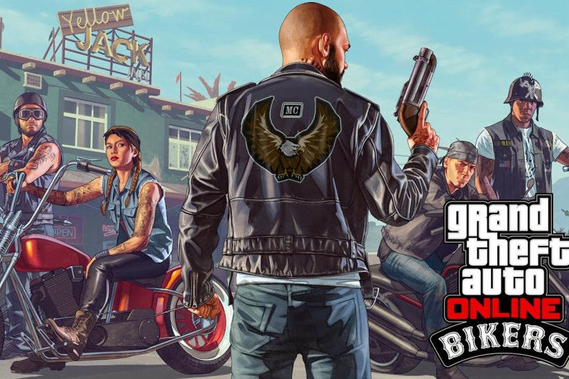 Bikers - GTA 5 Online Update DLC 1920x1080 wallpaper
