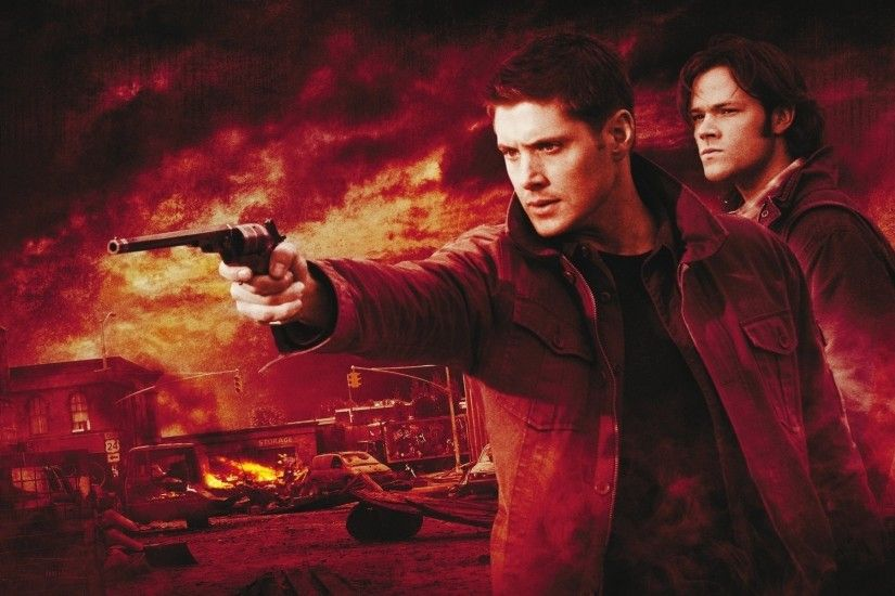 Supernatural TV Series Wallpaper