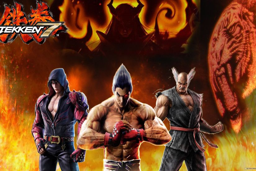 ... Tekken 7 Wallpaper. The Final Mishima Saga by DragonWarrior-H