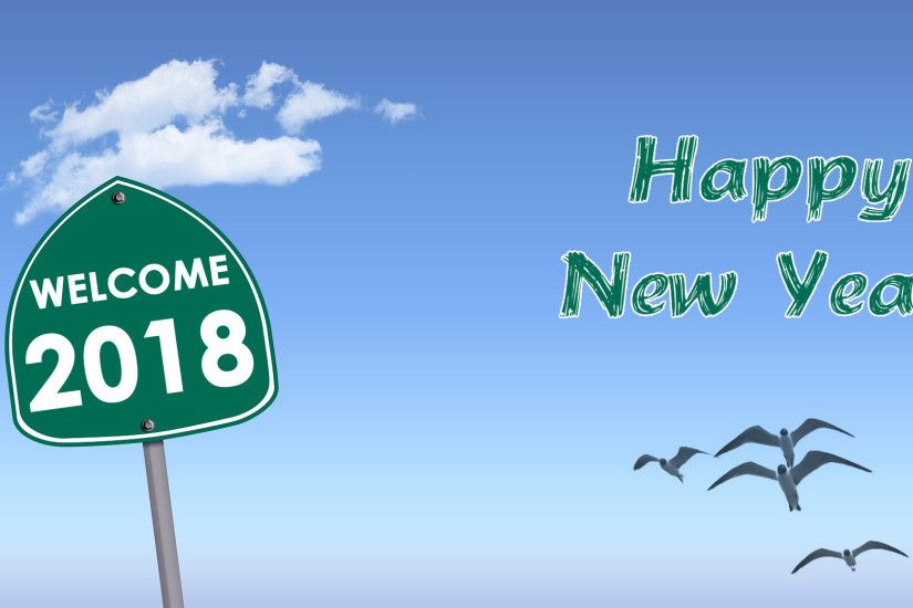 Welcome 2018 wallpaper Welcome 2018 HD wallpaper background