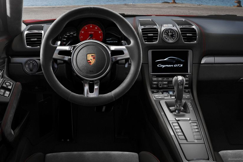 Porsche Cayman GTS Interior for 1920x1080