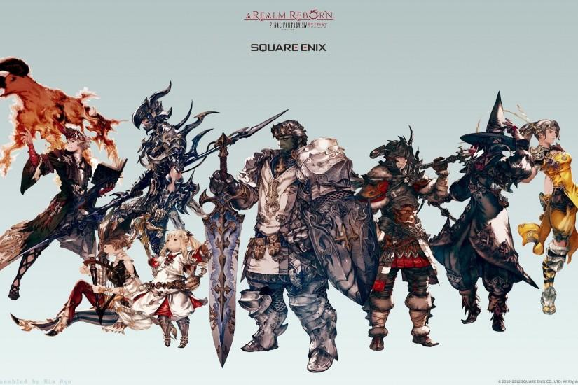 Final Fantasy XIV jobs