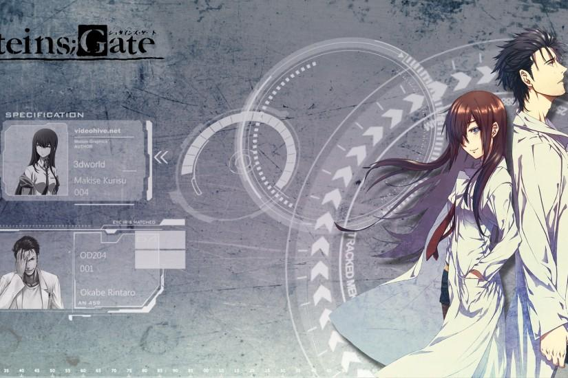 most popular steins gate wallpaper 1920x1080 for hd 1080p