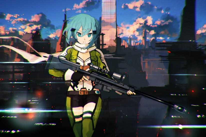 gorgerous sinon wallpaper 2560x1440 for 4k