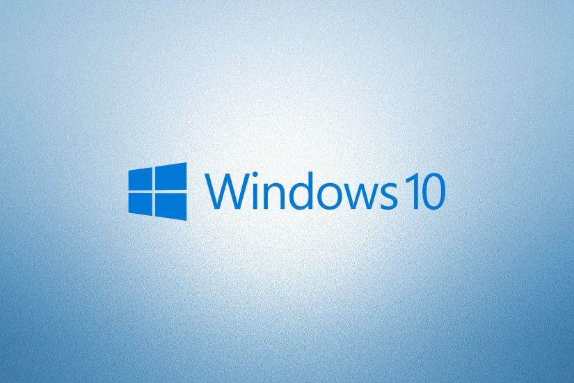 Windows 10 blue text logoon light blue wallpaper 3840x2160 jpg