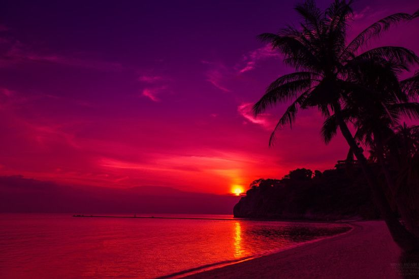Thailand Beach Sunset