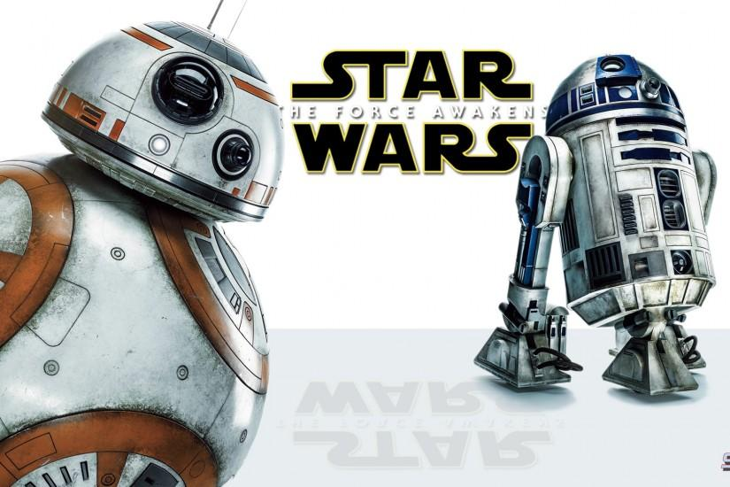 Movie - Star Wars Episode VII: The Force Awakens BB-8 R2-D2