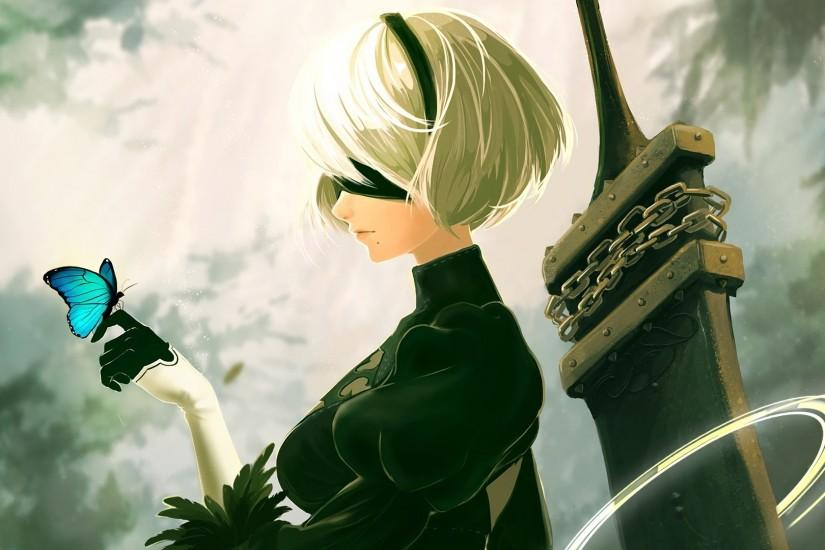 nier automata wallpaper 1920x1080 for macbook