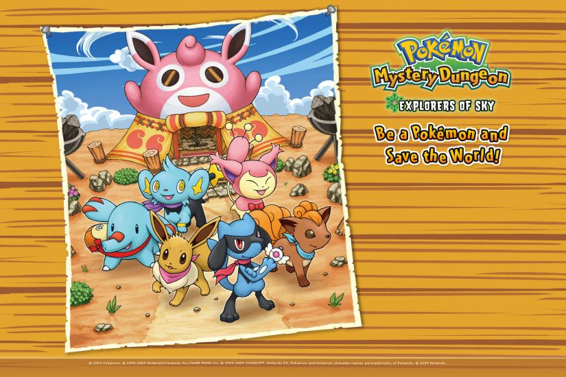 Pokémon Mystery Dungeon: Explorers of Sky Wallpaper 4