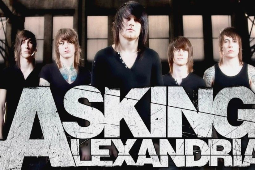 Asking Alexandria Wallpaper Full HD.