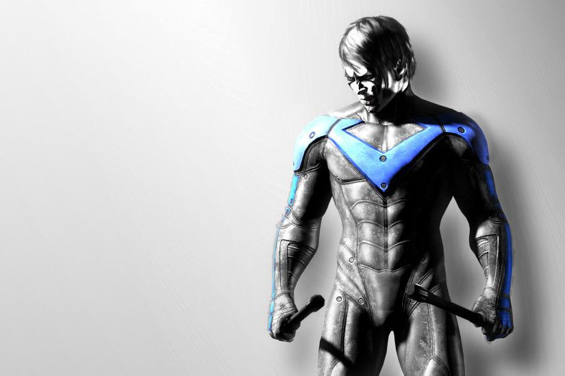 Batman Arkham City - Nightwing 1920x1080 wallpaper