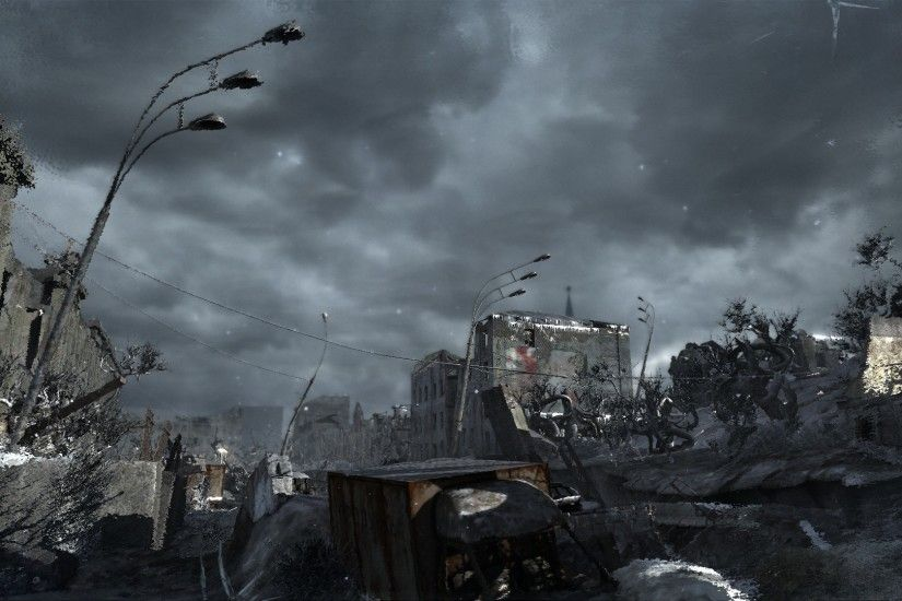 1920x1200 Destroyed City 298520