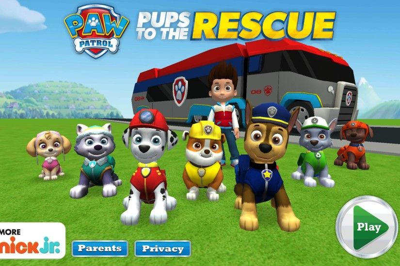 Paw patrol rescue mission full gameplay kid friendly gaming