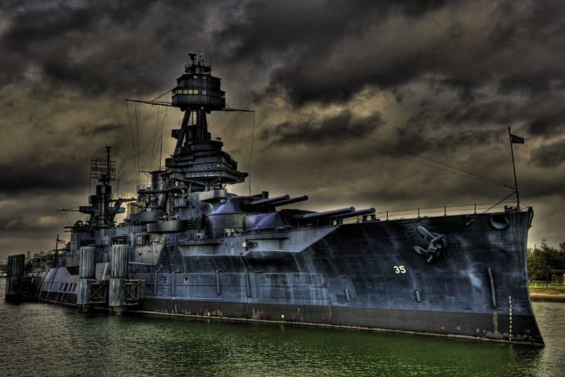 HD Battleship Texas Bb35 Wallpaper | Download Free - 133426