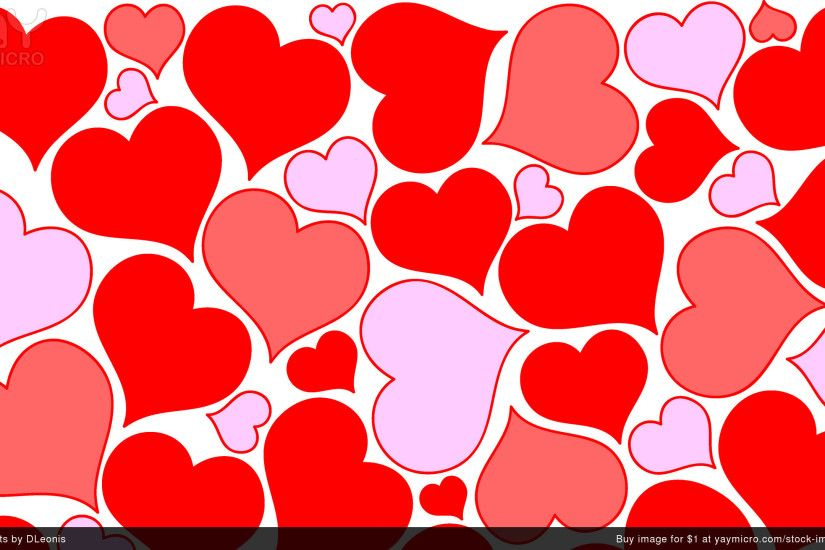 ... cute heart background Collection (76 ) Valentine Heart Pink Wallpaper  ...