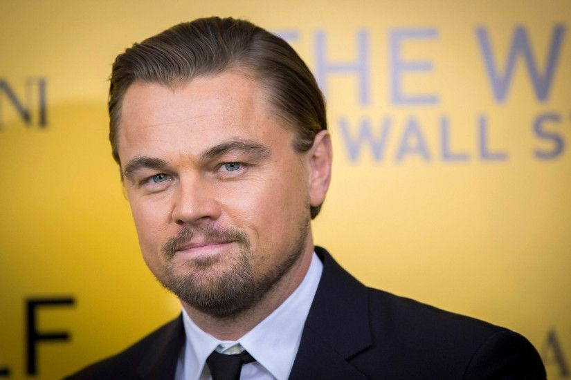 Leonardo DiCaprio at The Wolf of Wall Street Premiere 2880x1800 wallpaper
