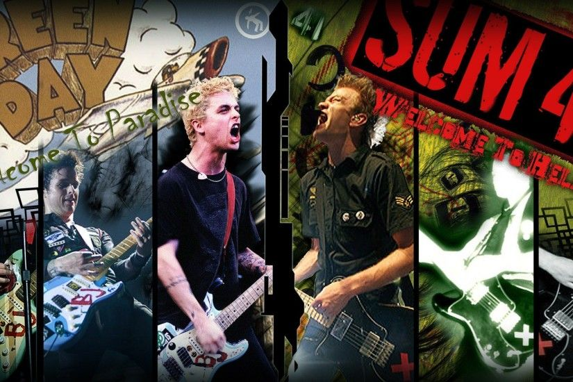 Green Day punk Billie Joe Armstrong Pop Punk sum 41 punk rock .