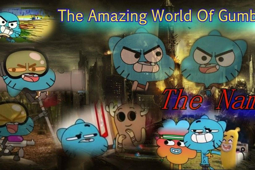 ... The Amazing World Of Gumball The Name Wallpaper by edisonyeejia