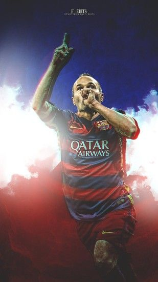 UEFA TEAM OF THE YEAR | Midfield | Andres Iniesta mobile wallpaper