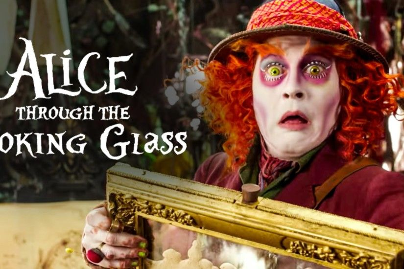 Alice Through the Looking Glass Official Trailer #1 (2016) Johnny Depp  Disney Fantasy Movie HD - YouTube
