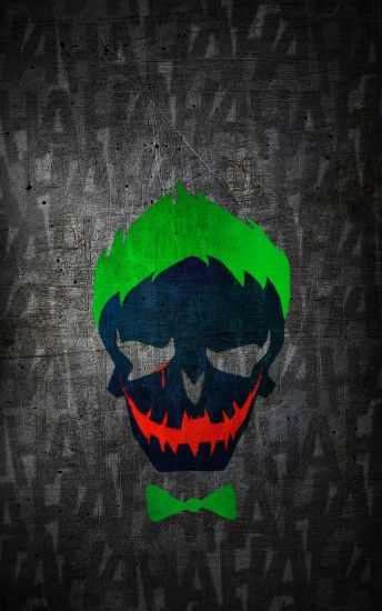 ... Suicide-Squad Joker HD Wallpaper (iPhone/Android) by Jaackeden