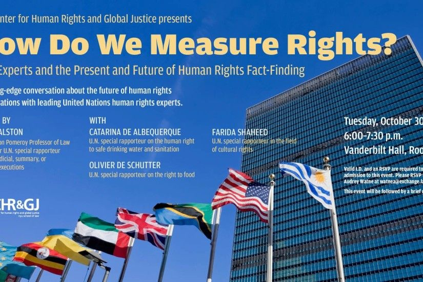 Join the Center for Human Rights and Global Justice ...