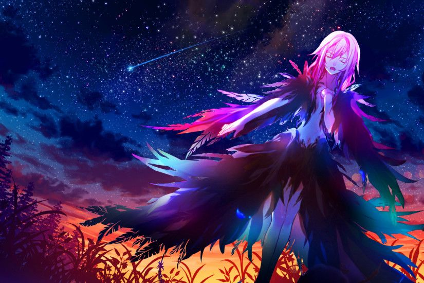 jrkero 64 4 Departure blessing - Guilty Crown Wallpaper by Siimeo