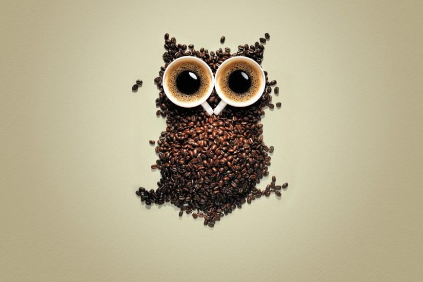 Coffee Owl Google Wallpapers, Night Coffee Owl Google Backgrounds .