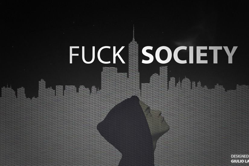 ... Mr. Robot - F**K SOCIETY by GiulioLaura