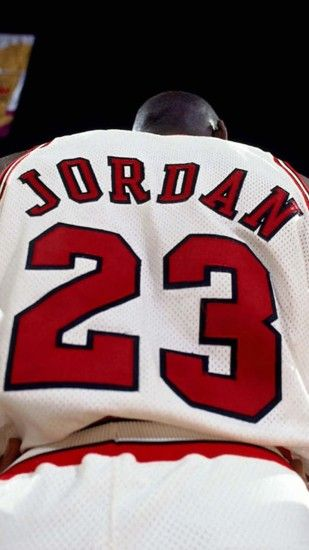 2160x3840 Wallpaper michael jordan, nba, basketball, jersey, logo