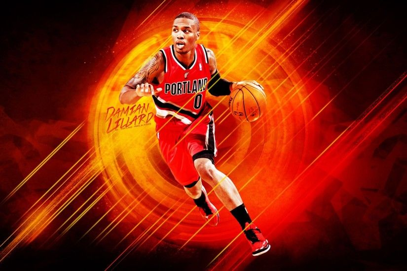 Portland Trail Blazers Damian Lillard. UPLOAD. TAGS: Cool Desktop  Backgrounds Basketball Picture Sports ...