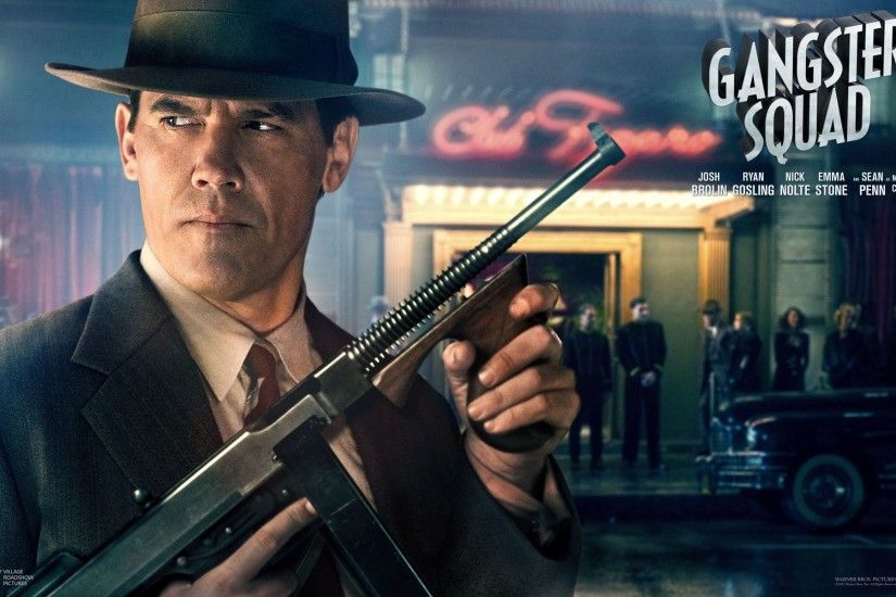 Movie - Gangster Squad Gangster Josh Brolin Wallpaper