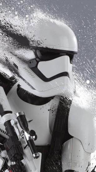 Download Wallpaper Starwars The Force Awakens untuk iPhone .