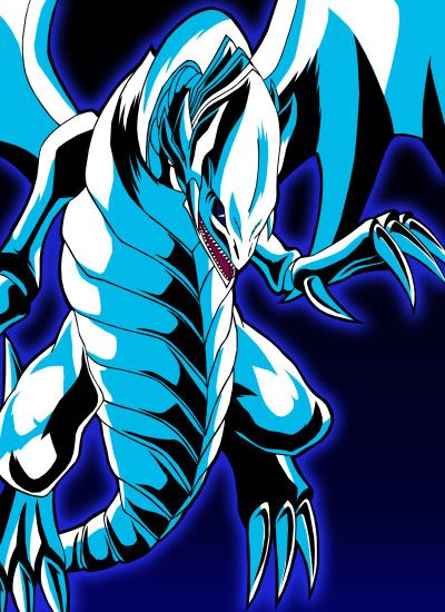 Blue Eyes White Dragon by Chase-TH