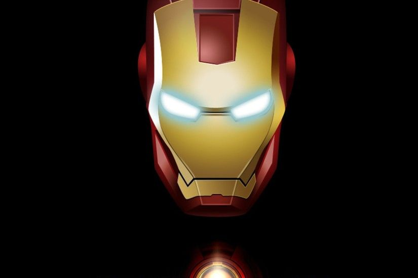IRON MAN Logo 01 IPad Air Wallpapers