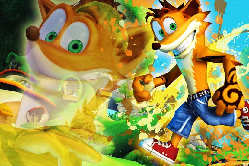 Crash Bandicoot - Wallpaper by SonicTheHedgehogBG Crash Bandicoot -  Wallpaper by SonicTheHedgehogBG