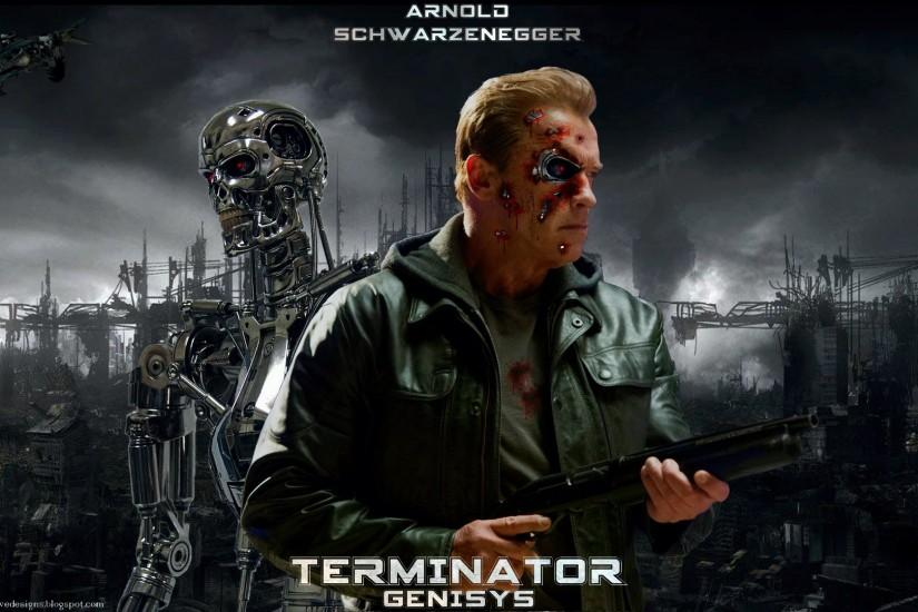 terminator posters | Terminator Genisys Poster Movie 2015 Free Download Hd  Wallpapers
